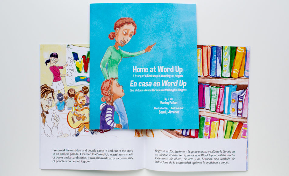 Home at Word Up Cover & Pages